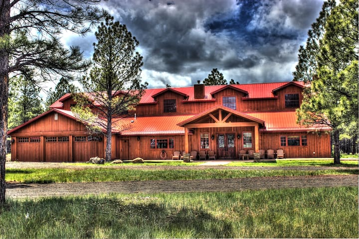 Luxurious & spacious Lodge in AZ's White Mountains - Navajo County - Maison