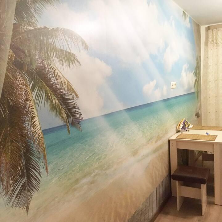 ❤❤❤ New cozy apartment on Semchinskaya