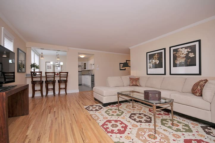Large 2 Bedroom Suite Near Downtown Suite #8