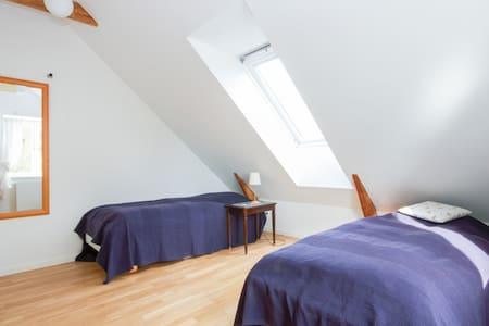 Great Bedroom (3) 600m fr Lyngby St - Lyngby - Bed & Breakfast