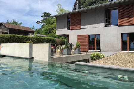 exceptional contemporary house - Aubonne