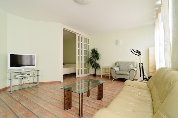 Studio apartment with one bedroom. - St Petersburg - Daire
