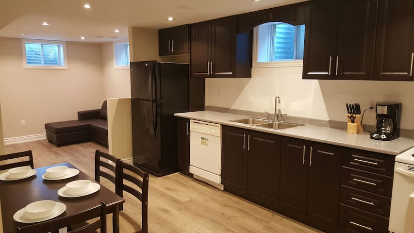 2 bedroom Basement Apt( brand new)