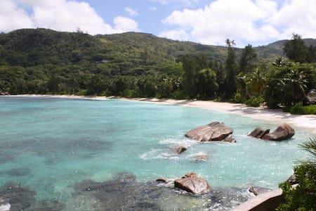 Zimmer direkt am Traumstrand - Takamaka, Mahe, Seychelles