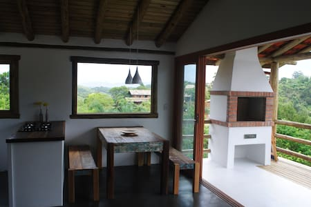 Casa da Arvore Na Praia - 因比圖巴 - 獨棟