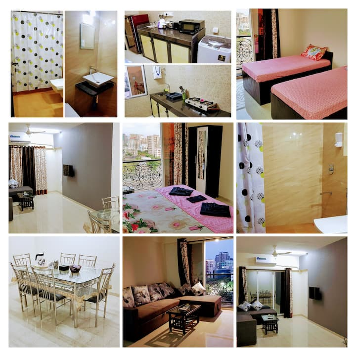 BLISS 14: SANITISED 2BR Gorgeous Apartment-Andheri