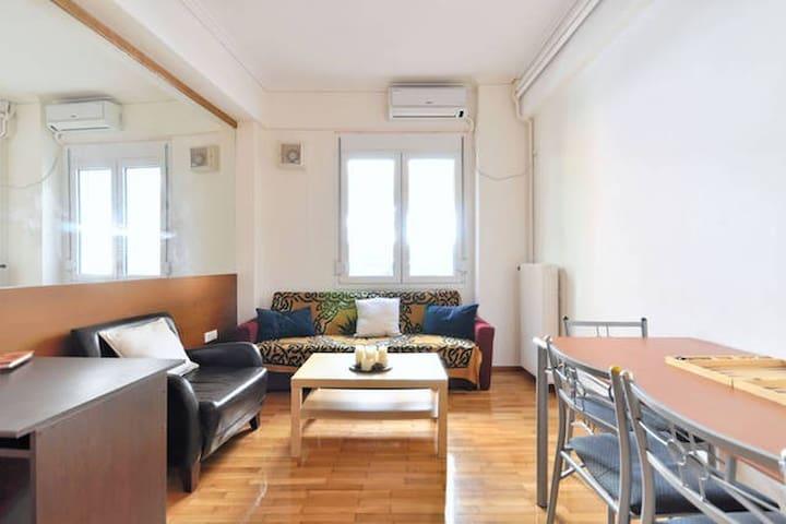 Athens Center! Chic & Cheap Apartment in Kolonaki - Atina - Daire