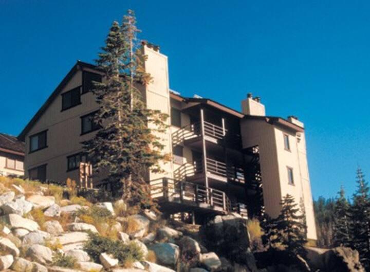 Tahoe  beautiful hilltop condo