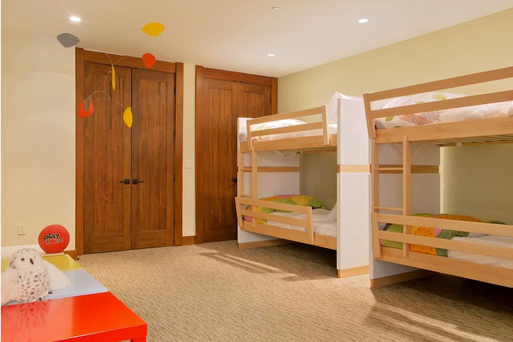 Huge room for the kids