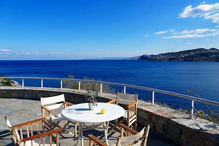 Stunning villa with superb seaview  - Keratea - Vila