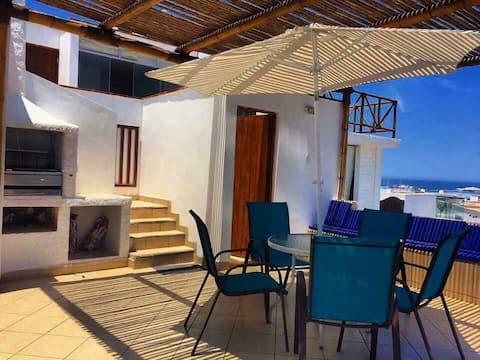 Casa de Playa Mafalda - Puerto Fiel