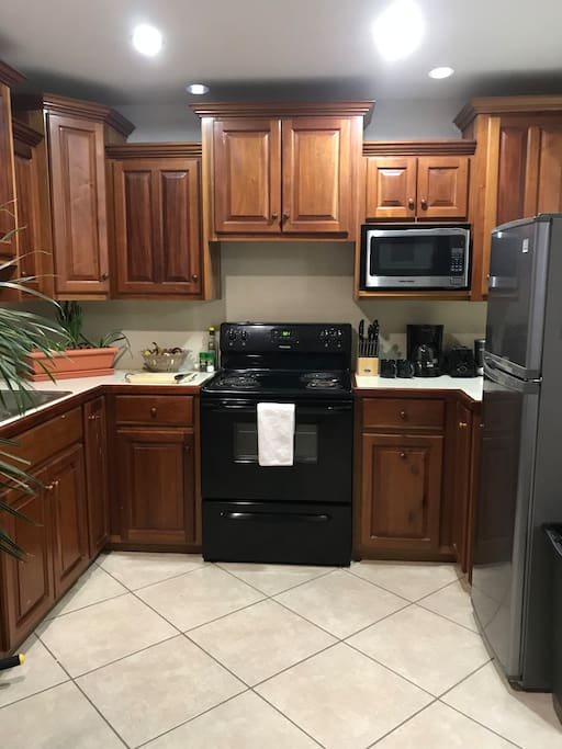 Full kitchen open for your use