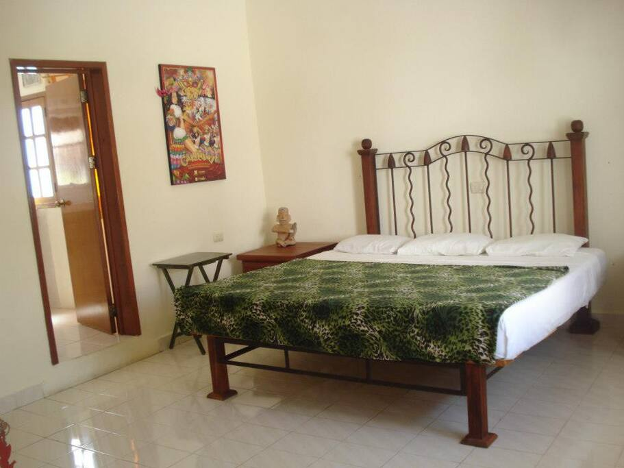 King size bedroom with private Bathroom