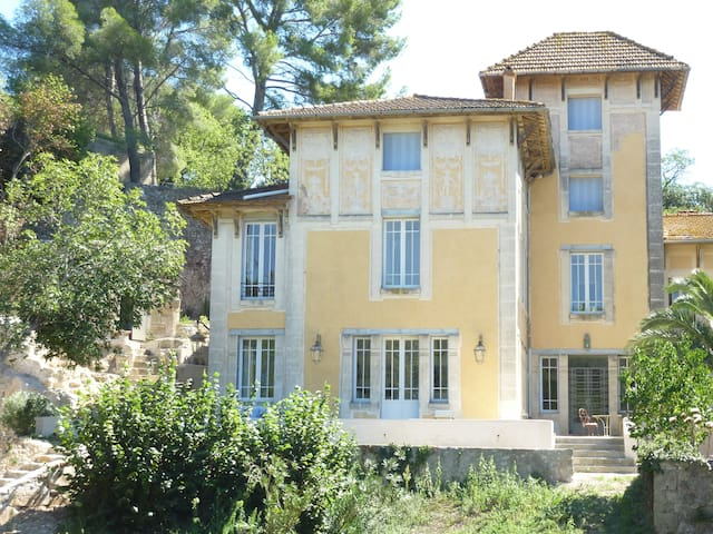 Maison de Maître sud de la france  - Florensac - Huis