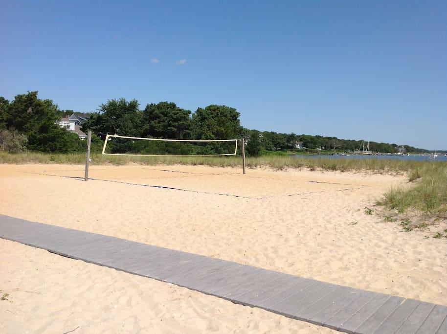 Volleyball at Association Beach