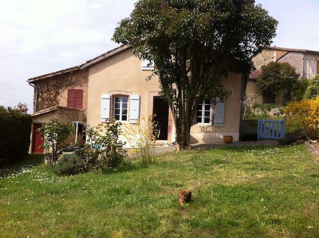 Chambre d'amis, bienvenue - Montaut-les-Créneaux