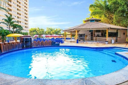 FLAT GOLDEN DOLPHIN GRAND HOTEL - Caldas Novas - Apartment