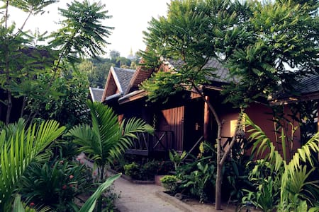 Time stops in Matata GH's Bungalow1 - 琅勃拉邦(Luang Prabang) - 小木屋