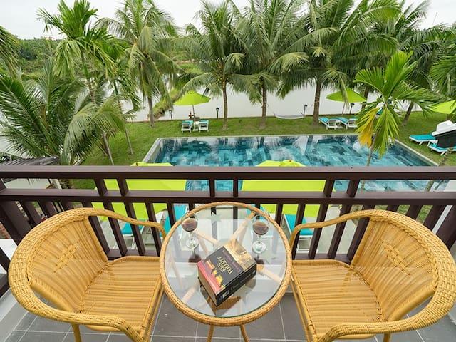 Balcony, Water Coconut Boutique Villas, Hoi An
