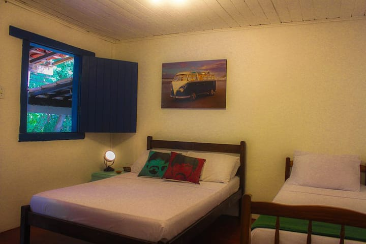 Private Suite Triple TV and Minibar Hostel Bahia