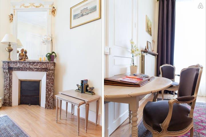 Chambre 1, le charme français