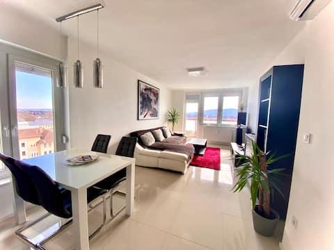 Panoramic modern apartment