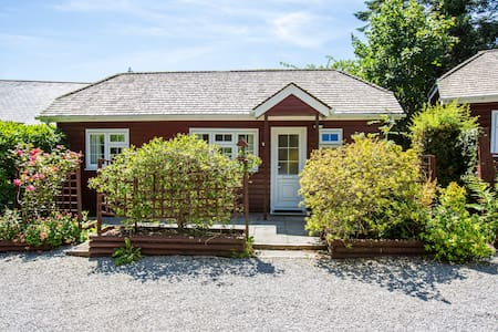One bedroomed holiday lodge Nr St Austell