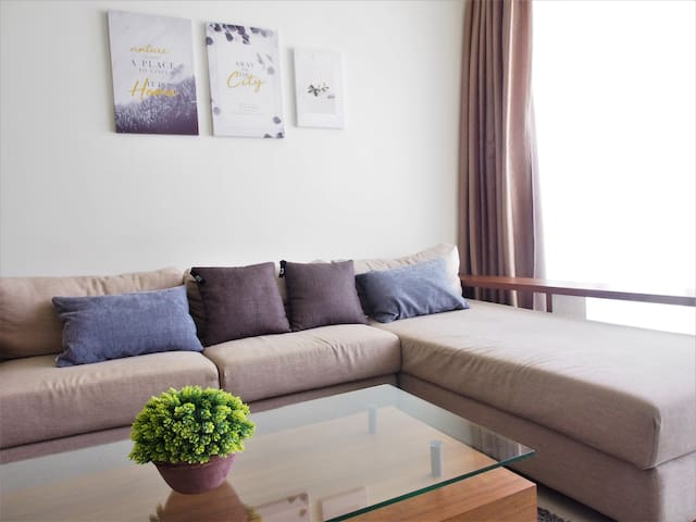 1-4 Pax Cozy 1BR Apt @ Publika *FREE_PARKING*