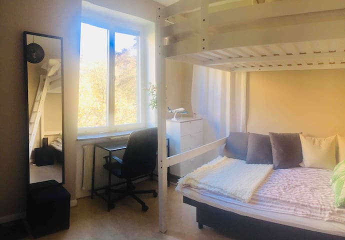 Private room with central location in Gothenburg