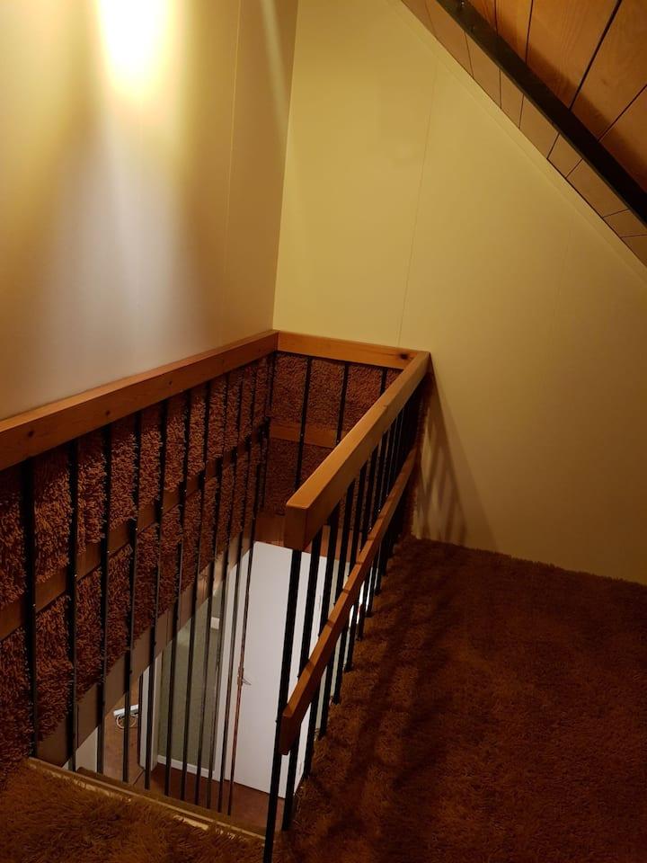 Cozy attic room