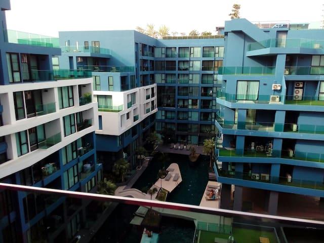Acqua condo Nice studio pool view - Pattaya City - Lägenhet