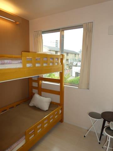 ★Cute room - bunk bed