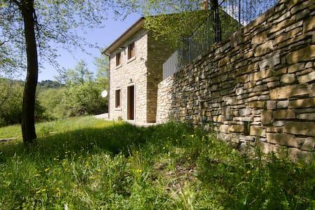 Vacanze in Podere a Sansepolcro nella natura - Pieve Santo Stefano