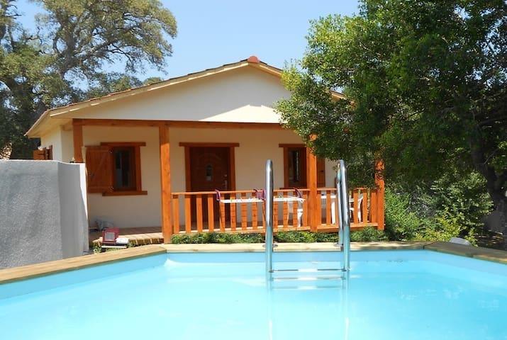 Petite villa, piscine proche plage - Sotta - Rumah