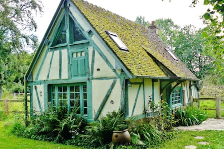 Little cottage in a large garden