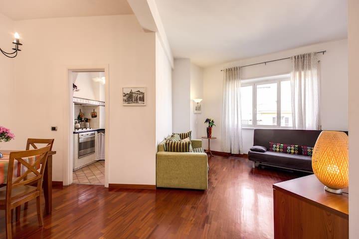 Confortevole appartamento in Prati- MUSEI VATICANI