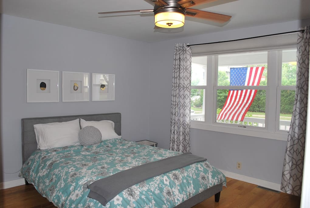 Master Bedroom with Linens