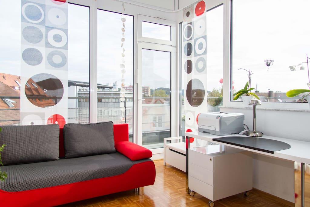 elegantes zimmer penthousewohnung lofts zur miete in tettnang baden wurttemberg deutschland. Black Bedroom Furniture Sets. Home Design Ideas