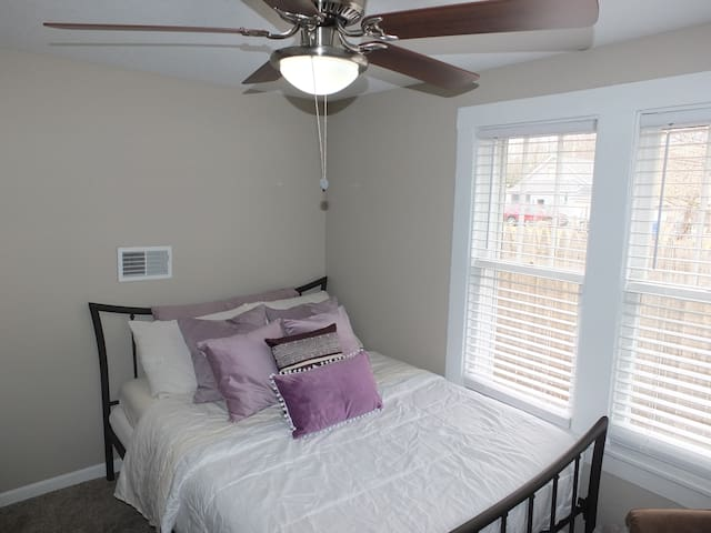 The Hip and Classy Haven - Bedroom On the Left