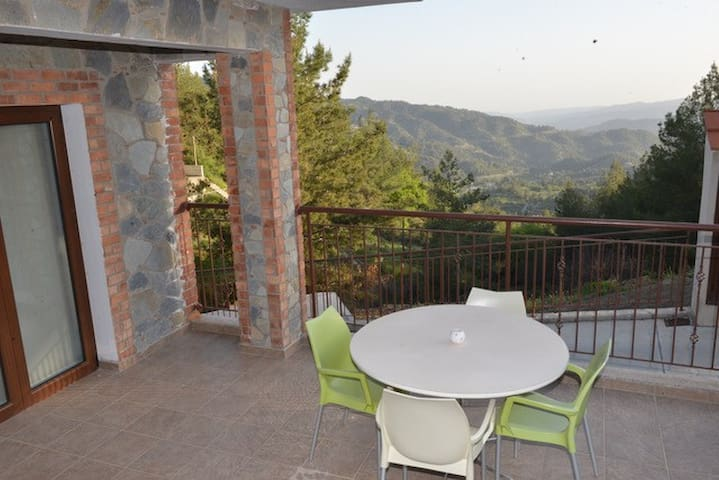 Agros Apartment with Stunning Views