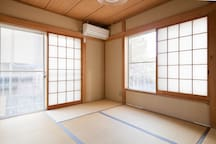 Japanese-style room that can relax