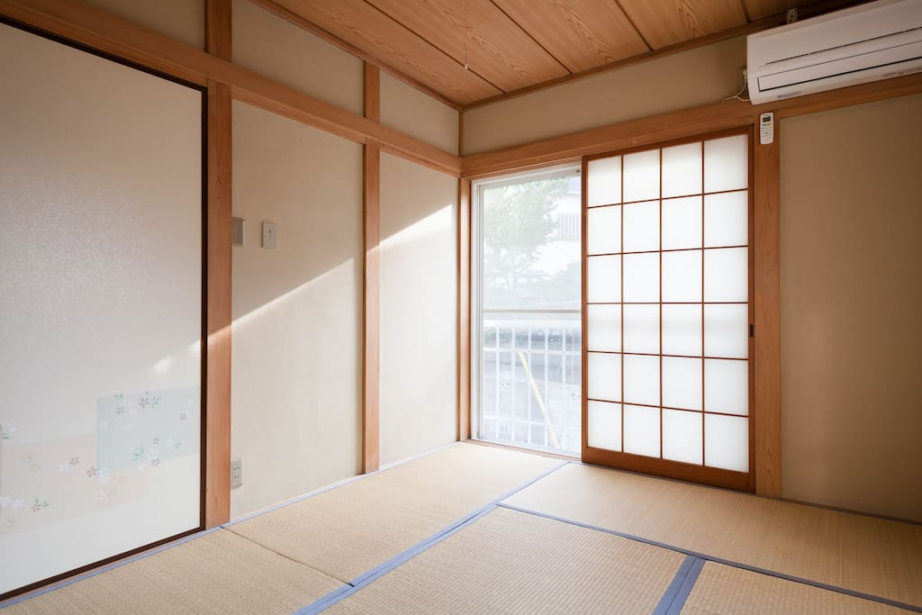 Six tatami=about 10㎡