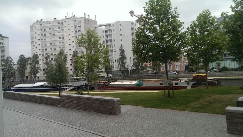 Appartement vue sur la Vilaine - Rennes - Apartment