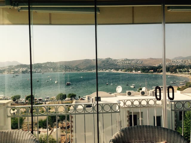 Bodrum - Flat at the beach /swimming pool
