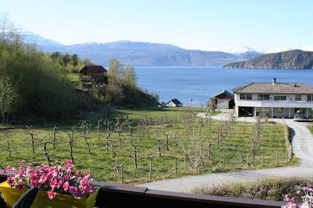 Panorama view on the fjord! 6 beds - Jondal