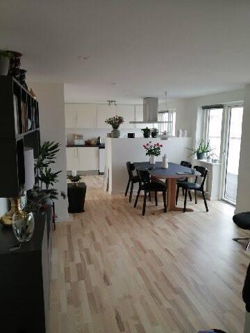 Skøn nyistandsat penthouse lejlighed i centrum