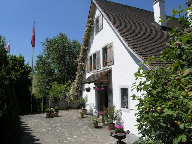 Country Mill easy reach of Zurich - Schönenberg - Bed & Breakfast