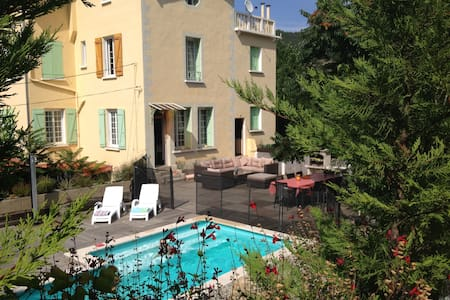 Large Villa, Heated Pool, Air Conditioning & Wifi - Vernet-les-Bains