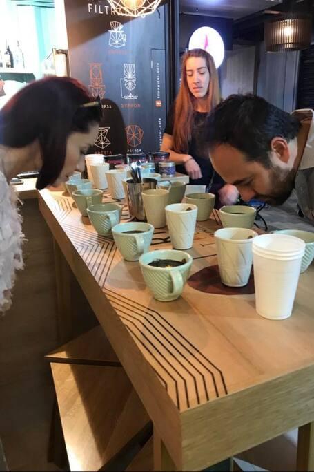 Cata de variedades de Cafés