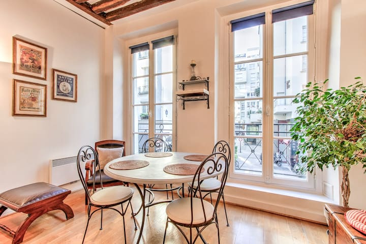 Charming one bedroom Apt. Le Marais - Saint-Martin